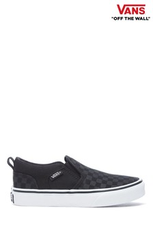 Vans Checked Asher Trainers