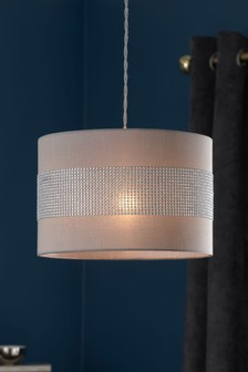 Lamp shades ceiling lamp shades next official site diamant easy fit pendant aloadofball Image collections
