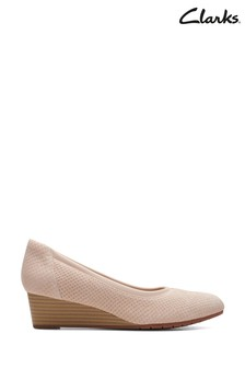 Clarks Blush Interest Mallory Berry Shoes