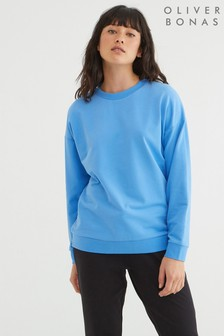 Oliver Bonas Super Soft Blue Sweatshirt