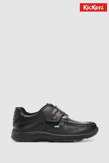 Kickers Junior Reasan Strap Leather Shoes