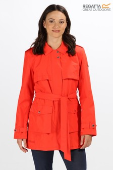 Regatta Red Grier Tie Waist Jacket