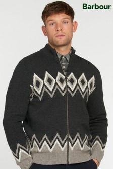 Barbour Egdon Knitted Zip Jumper