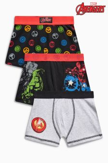 Marvel® Trunks Three Pack (2-12yrs)