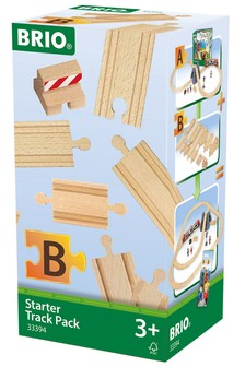 BRIO World Railway Track Starter Pack B