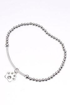 Crystal Effect Sparkle Paw Bracelet
