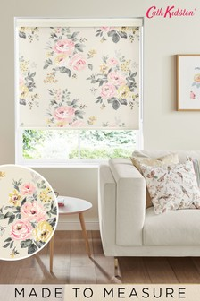 Cath Kidston Cream Vintage Bunch Multi Made To Measure Roller Blind