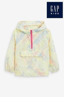 Gap Tie Dye Anorak Rain Coat