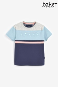 Baker by Ted Baker Boys Multicoloured Stripe T-Shirt