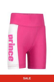 Kids Pink Vintage Shorts
