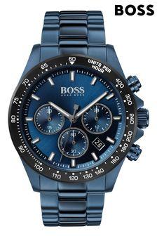 BOSS Hero Blue IP Bracelet Watch