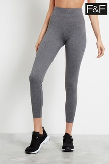 F&F Grey Charcoal Leggings