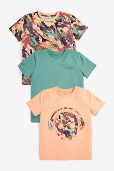 3 Pack Graphic T-Shirts (3-16yrs)