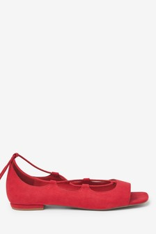 Ankle Wrap Peep Toe Shoes