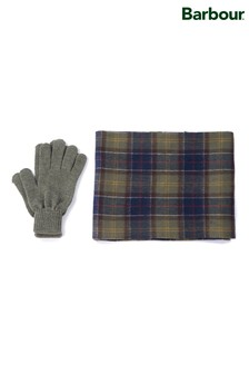 Barbour® Tartan Scarf And Glove Gift Set