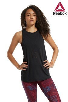 Reebok Curve Burnout Tank Top