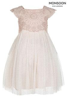 Monsoon Pink Baby Estella Dress