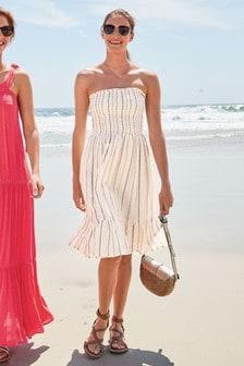 Sparkle Pull-On Dress