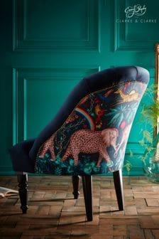Zambezi Navy Soho Chair By Emma Shipley