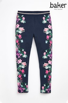Baker By Ted Baker Girls Mirror Floral Leggings