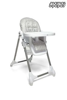 Mamas & Papas Snax Highchair Grey Spot