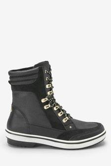 Hiker Detail Winter Boots