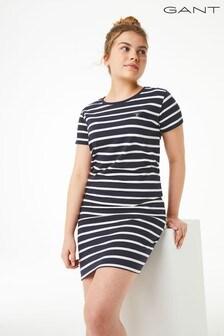 GANT Teen Girl Breton Striped Jersey Dress