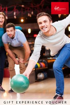 Three Games Of Bowling Meal Drinks Disco Bowl Gift Experience by Virgin Experience Days