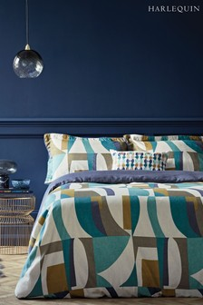 Harlequin Bodega Cotton Geo Duvet Cover