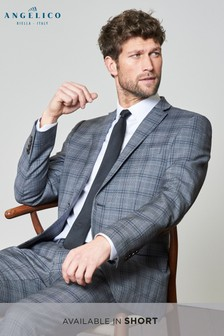 Signature Check Slim Fit Suit