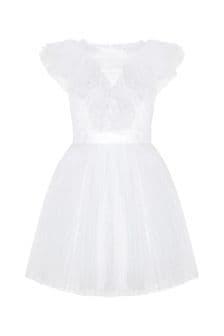 Carrement Beau Girls White Dress