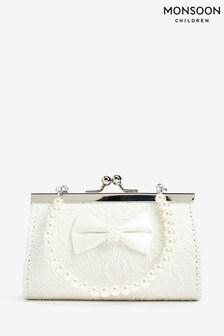 Monsoon Lara Lace Bow Mini Bag
