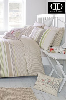 Falmouth Stripe Duvet Cover and Pillowcase Set by D&D