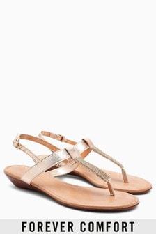Sandales Forever Comfort à petite semelle compensée