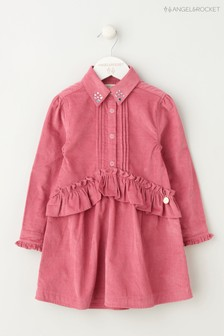 Angel & Rocket Pink Peplum Shirt Dress