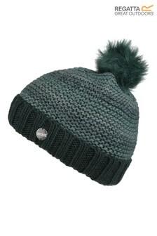 Regatta Green Frosty IV Pom Pom Hat