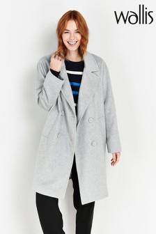 Wallis Tall Grey Coat