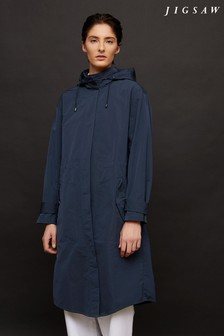 Jigsaw Lightweight Hooded Parka