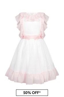 Patachou Girls White Dress