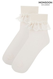 Monsoon Olivia Bow Lace Socks