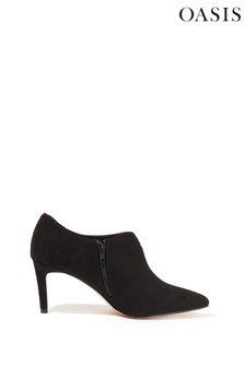 Oasis Black Pointed Shoe Boots