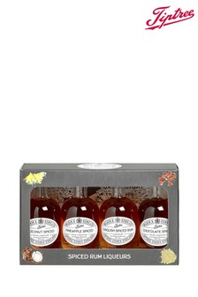 Set of 4 Miniature Rum Liqueurs Gift Box by Tiptree