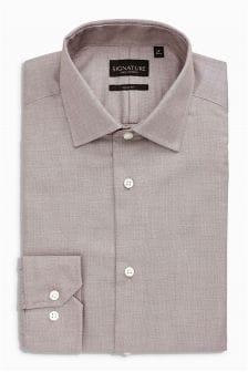 Коллекционная оксфордская рубашка из текстурированной ткани