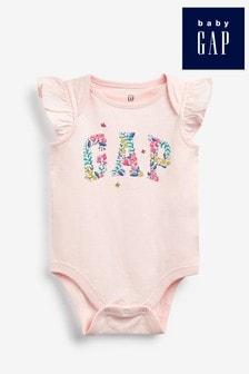 BabyGap Infant Toddler Girls Bunny Rabbit Print Blouse Top