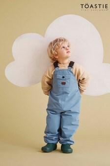 Töastie® Kids Rain Blue Waterproof Dungarees