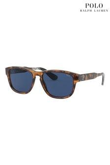 Бирюзовые солнцезащитные очки Polo Ralph Lauren Antique
