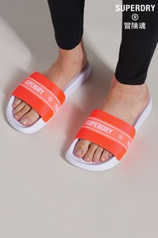 Superdry Tape Pool Sliders