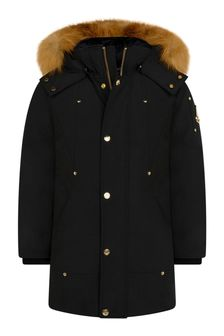 Kids Gold Series Black Parka