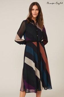 Phase Eight Black Chantilly Print Dress