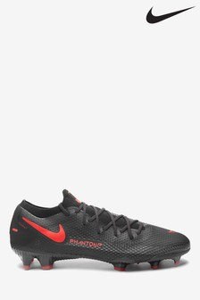 Nike Black Phantom GT Pro Firm Ground Football Boots
